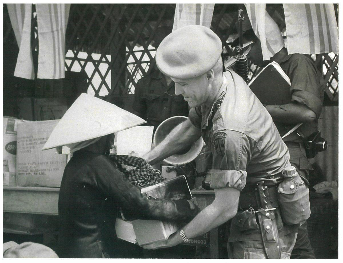 Thomas Johnson during the Vietnam War.